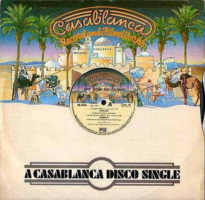 """Various - Hot from the Casbah EP (4 trk 12"""" / Lipps Inc - Funkytown 1980)"""