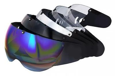 Roof Roadster Silver Iridium Visor *FREE NEXT DAY UK DELIVERY*