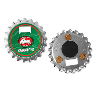 South Sydney Rabbitohs NRL 3 in 1 Bottle Opener Coaster And Fridge Magnet