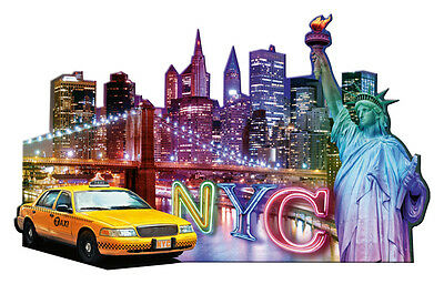 Ravensburger 16153 - Puzzle Silhouette - Skyline, New York