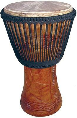 """Atlas Professional 13"""" DJEMBE DRUM, double-woven African Drum from Hobgoblin"""