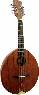 Ashbury AM-110 FLATIRON MANDOLIN. Solid Sapele top & body. From Hobgoblin Music