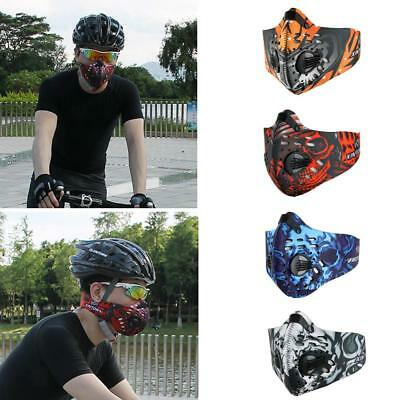 Anti Pollution Outdoor Walking Cycling Running Sports Half Face Mask Filter