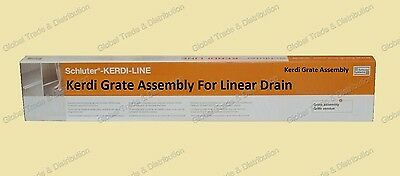 Schluter Systems Kerdi Line Grate Assembly For Floor Linear Drain All Sizes