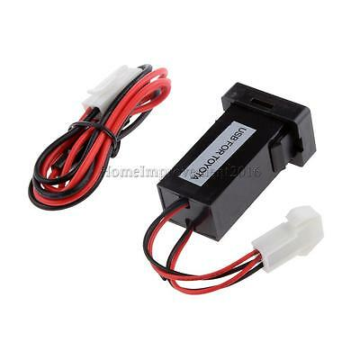 2in 1 Digital Thermometer Voltage Meter Battery Monitor For Toyota Prado 150