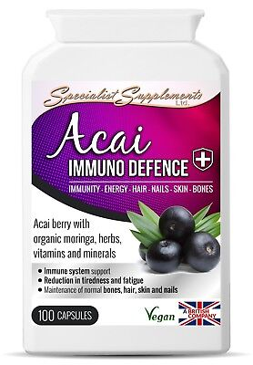 Acai Berry and Grape Seed Resveratrol Detox Tablets Weight Loss Supplement Vegan