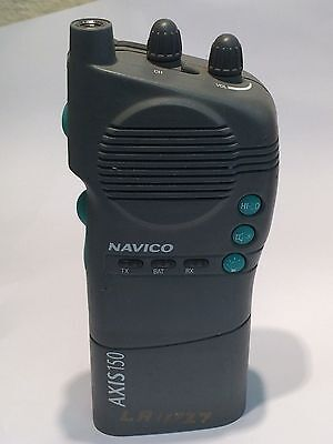 NAVICO AXIS / SIMRAD 150 GMDSS HANDHELD VHF TRANSCEIVER USED WORKING COND.ae1z13