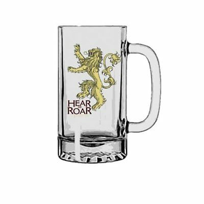 Game of Thrones - Stein Glass - Hear Me Roar - Lannister