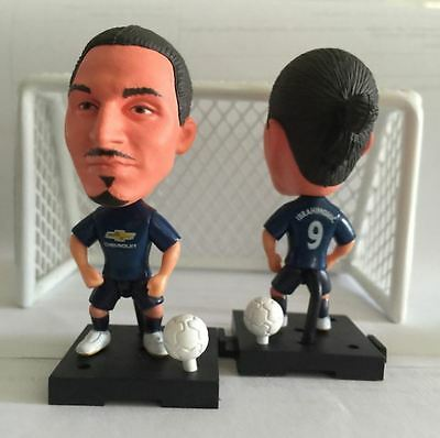 Statuina doll ZLATAN IBRAHIMOVIC 9 MANCHESTER UNITED away football action figure