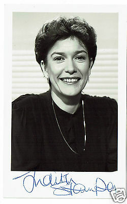 Judith Stamper BBC Presenter Look North Hand Signed Photograph 5 X 3