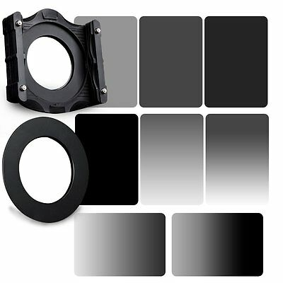 GND&ND2+ND4+ND8+ND16 Neutral Dendity Filter&72mm Ring+Holder Kit For Cokin Z-PRO