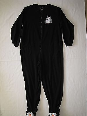 Costume Adult Nick & Nora Sleepwear Penguin One Piece Size Xl
