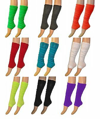 New 80's UV Neon Rouge Top Luxurious Legwarmer Adults & Teenagers Leg warmers