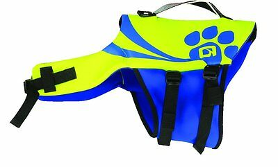 O'Brien Pet Life Vest, Medium, Yellow/Blue