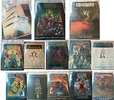 White Wolf Werewolf the Apocalypse Books MINT Condition