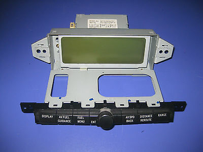 Toyota Avensis T25 Display 86110-05020  Boardcomputer