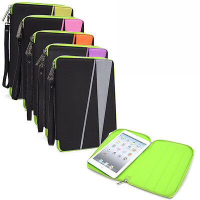 Universal 6 - 8 inch Tablet Nylon Sleeve Pouch Case Cover MINIBR5