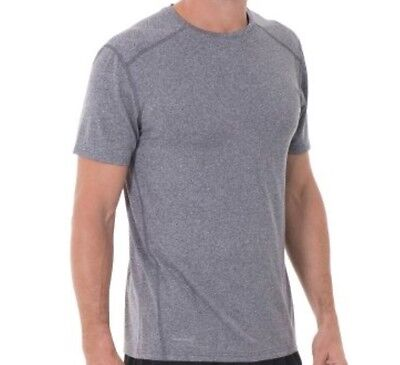 Russell Athletic Men's Dry Power 360 Crew Neck T-Shirt - Grey - Sizes S-3Xl Nwt