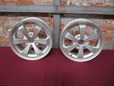 New Take-Off Mercedes-Benz Borbet Smart Car 15x5 & 15x6.5 Wheels 1 Front 1 Rear