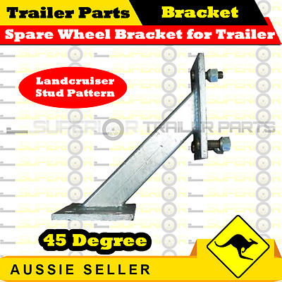 Spare Wheel Bracket for Trailer (Landcruiser Stud Pattern)
