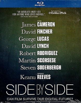 NEW BLU-RAY //  SIDE BY SIDE // CAN FILM SURVIVE // Keanu Reeves, Steven Soderbe