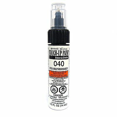 Genuine Toyota 00258-00040-21 White Touch-Up Paint Pen (.44 fl oz, 13 ml)