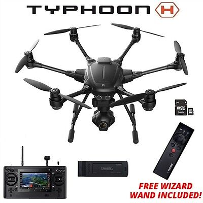 NEW Yuneec Typhoon H Hexacopter w/ FREE Wizard Collision Avoidance GCO3+ 4K