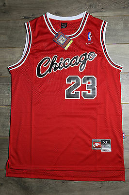 Michael Jordan Jersey #23 Chicago Bulls Hardwood Classics Rookie Road Retro Red