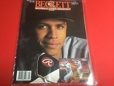 1996 Issue Of Becketts Baseball Card Monthly Magazine Featuring Alex Rodriguez