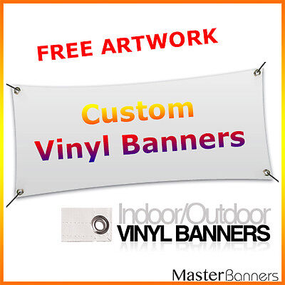 Custom Outdoor/Indoor Vinyl Banner single sided print banner various sizes