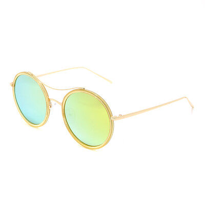 New Dasein Womens Round Sunglasses Travel Beach Vintage Shades w  Metal Arms 9f8ba84797
