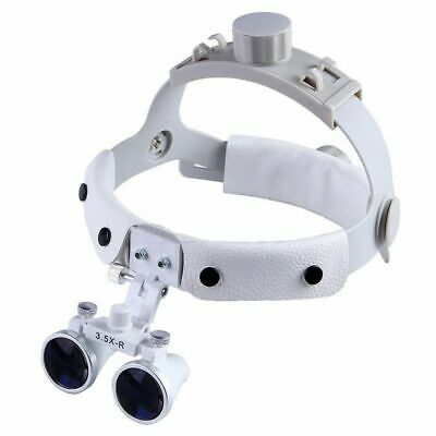 3.5X Headband Binocular Dental Loupes Surgical Loupes DY-108 White