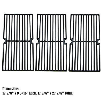 Replacement Porcelain Cast Iron Cooking Grid for Brinkmann Gas Barbecue Grill