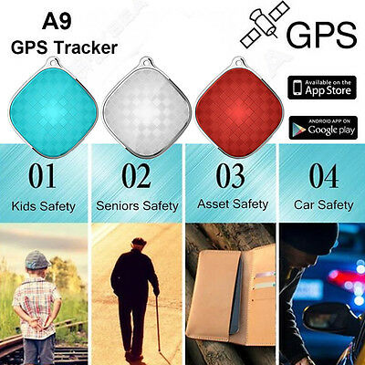 A9 Anti-lost GPS Tracker Mini GSM SOS Alarm Kids Old People Pets Luggage Locator