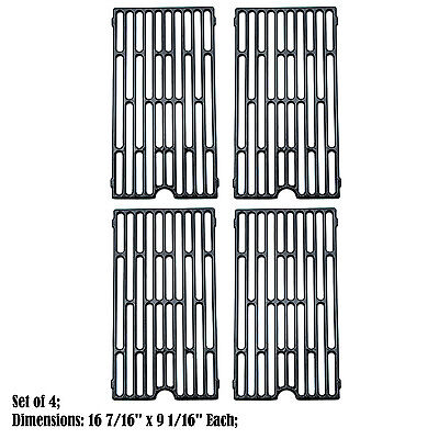 Replacement Porcelain Cast Iron Cooking Grid for Vermont Castings BBQ Grill