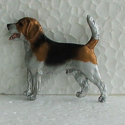 Beagle Resin Brooch Dog Breed Jewellery Handpainted Handcrafted