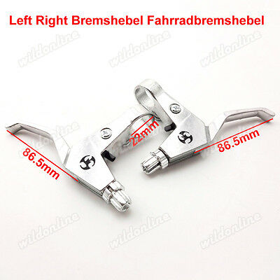 Left Right Bremshebel Fahrradbremshebel für Gas Scooter Mini  Chopper Pocket