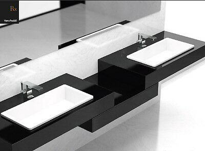 Glass Design Da Vinci built in sinks In Out built in sink Rx RXPO01