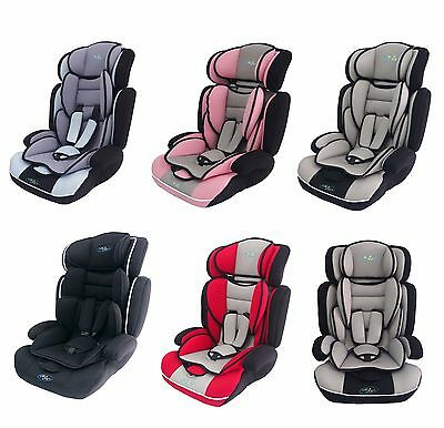 Bebe Style Convertible Group 1-2-3 Baby Child Car & Booster Seat. 9-36kg, 9m-12y