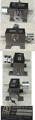 Allied Devices DDU4 Reduction Gearbox Ratio 1:1