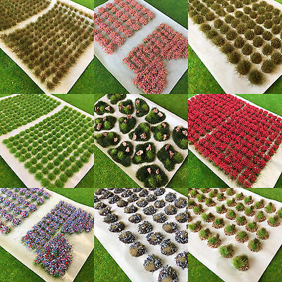 Static Grass Tufts by Serious-Play -Multi Listing Scenery Model Railway Wargames