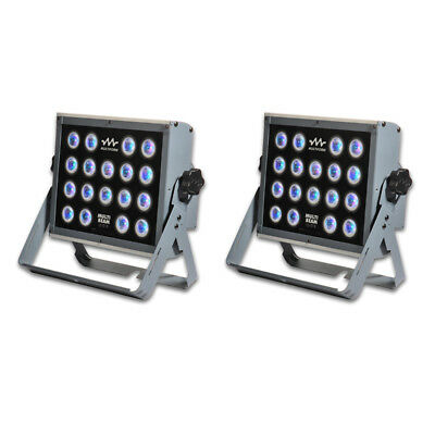 2 x Multiform MultiBeam LS1018 108W RGB LED Stage Wash Light DMX + 2Yr Warranty