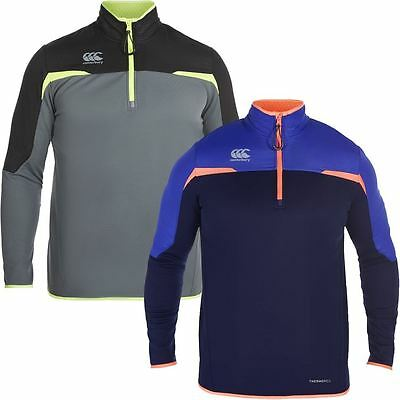 Canterbury Thermoreg 1/4 Zip Run Water Resistant Mens Thermal Pullover