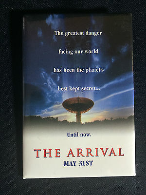 """The Arrival 1996 PROMO Pin Back Button SET 2-3/4"""" x 1-11/16"""""""