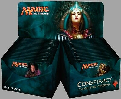 BOX 36 Buste Conspiracy 2 - Take the Crown ENG Nuovo Mtg Magic Booster