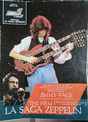 Popular 1  Especial N.67- Led Zeppelin / The Firm !!!! (Spanish Magazine)