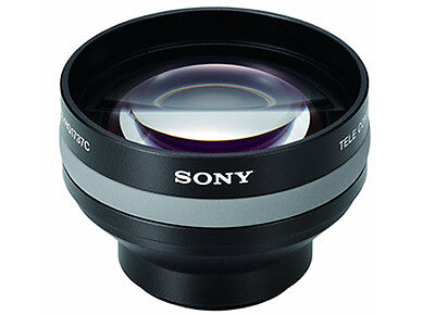 NEW Sony VCL-HG1737C Telephoto Conversion Lens, 1.7x Tele for 37mm camcorders