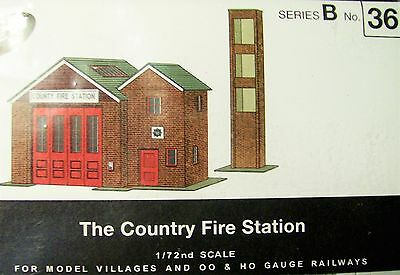 Sq36  Superquick The Country Fire Station   B36  Kit