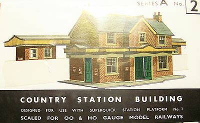 Superquick Country Station Building  A2   Kit
