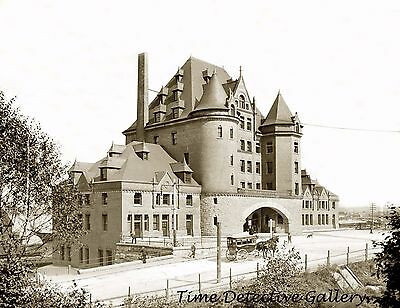 Canadian Pacific Railway Station, Vancouver, Canada -1902-  Historic Photo Print